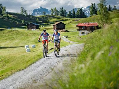 Biken mit dem Veloclub Surselva in IlanzGlion