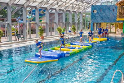 Kinderferienprogramm Bodensee-Therme Fast-Track-Hindernisparcours