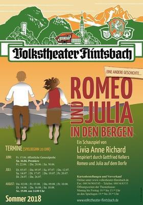 Romeo und Julia in den Bergen von Livia Anne Richard
