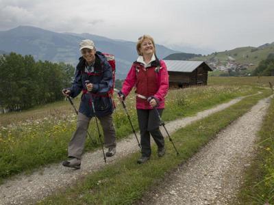 Geführte Halbtageswanderung 60 in Obersaxen Mundaun