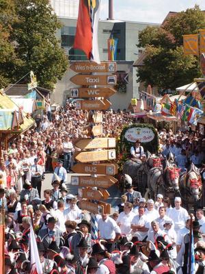 Herbstfest Rosenheim - ERFFNUNG - zur Mittagszeit!