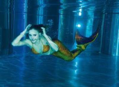 Meerjungfrauen-Schwimmkurs