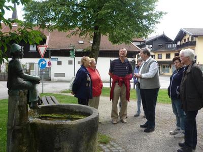 Dorfspaziergang mit dem Altbrgermeister