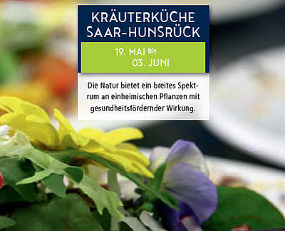 Kräuterküche Saar-Hunsrück. (© fotolia_Esther Hildebrandt)