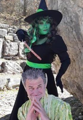 Der Stoakobold und die Grne Hexe