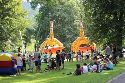 Interner Link zur Veranstaltung: Sommerfest mit Kindertag im Kurpark