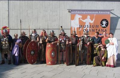 Aktionstag Orakel mit Römertruppe im Museum Quintana