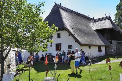 Bild Kunststückchenmarkt am Freilichtmuseum Klausenhof