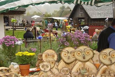 Bild Erntemarkt am Freilichtmuseum Klausenhof