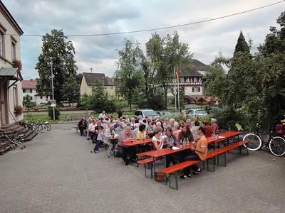 Bild Sommerabendhock in Ebersweier