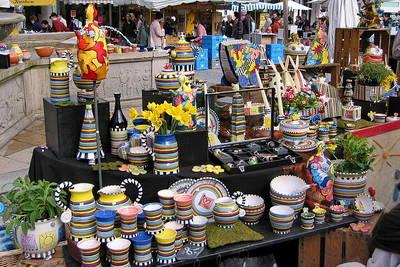 Bild 19. Homburger Keramikmarkt