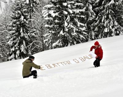 Für die BÃÂume Winter © Fridolin Walcher
