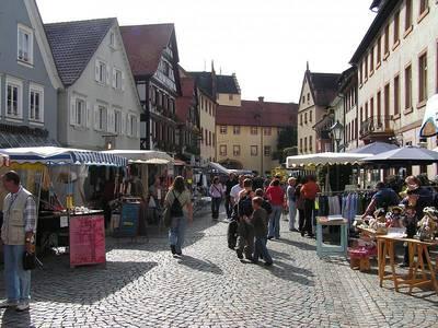 Markt in Wolfach. (© Stadt Wolfach)
