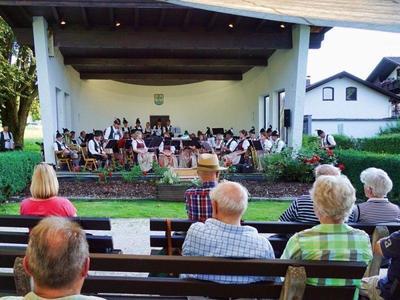Kurkonzert der Musikkapelle Bernau