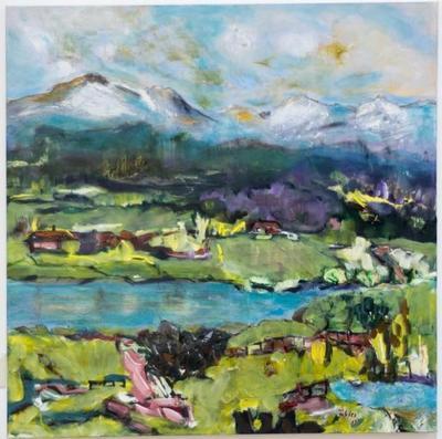 Ausstellung von Hildegard Fakler