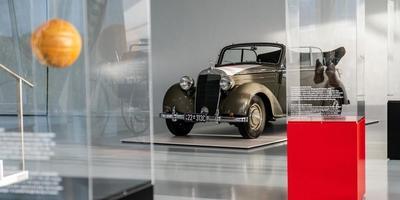 125 Jahre VfB Stuttgart Die Sonderausstellung im Mercedes-Benz Museum