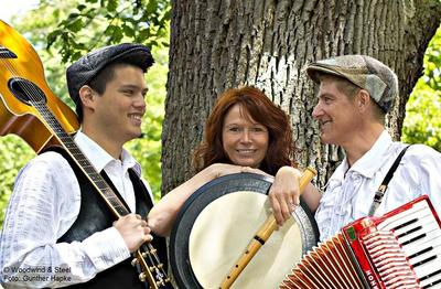 Irish Folk & Entertainment live mit Woodwind & Steel