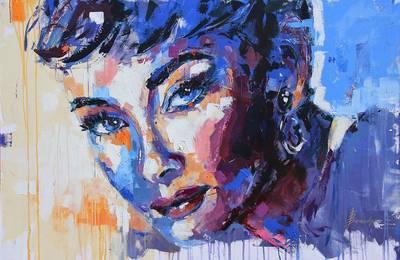 Ausstellung Sie bleiben im Bilde Portraitmalerei von Birgit Brandys