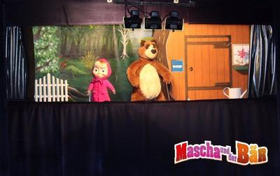 Figurentheater fr Kinder Mascha und der Br
