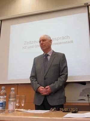 Seine Lebensgeschichte - unsere Gegenwart? Referent Pavel Hoffmann, Holocaustüberlebender