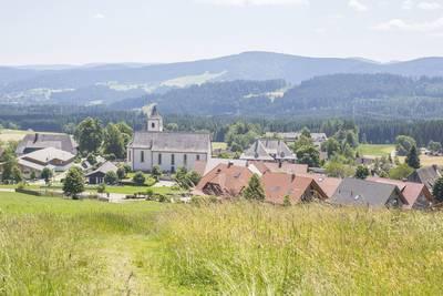 Wandern im Dorf zum Verlieben. (© Hochschwarzwald Tourismus GmbH)
