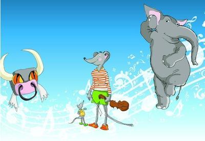 Karneval der Tiere - mit Maus und Monster
