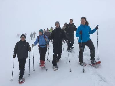 Schneeschuhtour. (© S.Büchner Naturschutzzentrum)