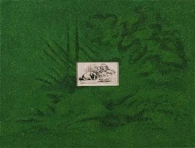 Bilderausstellung des Künstlers Claude Wall