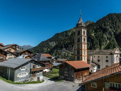 mira!cultura Ortsführungen Architectura ed identitad Val Lumnezia