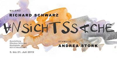 Ausstellung Richard Schwarz mit Andrea Stork