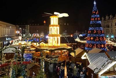 Saarlouiser Weihnachtsmarkt. © Copyright: amc