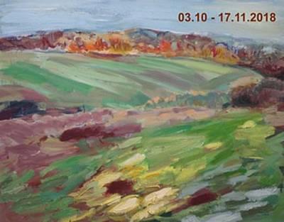 Ausstellung malerei  zeichnung