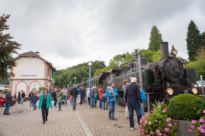 Lokschuppenfhrungen - Kandertalbahn