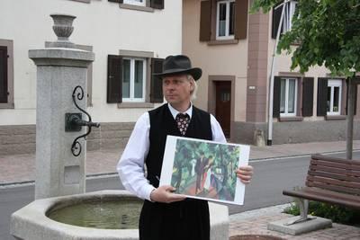 Schauspielerische Stadtführung Mit August Macke durch Kandern