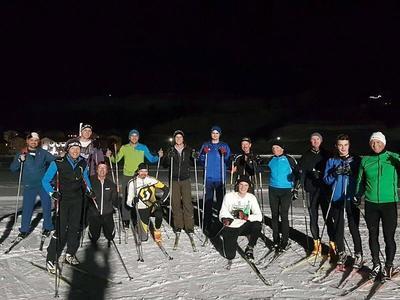 Abend Langlauf-Schnupperkurse mit IG Langlauf Breil in BreilBrigels