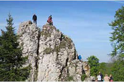 Albguide-Tour Felskopftour mit Grenzerfahrung auf Kühbuchen