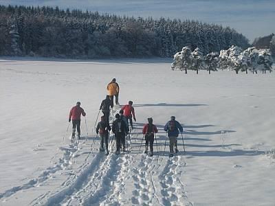 Albguide-Tour Mit den Schneeschuhen rund um den Blasenberg
