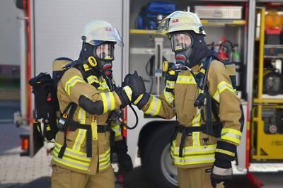 Hydrantenbegang und Jahresabschluss Freiwillige Feuerwehr Rhena