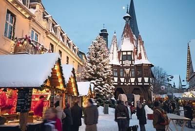 Michelstädter Weihnachtsmarkt. (© Stadt Michelstadt)