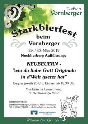 Starkbierfest mit Neubeurer Nockherberg