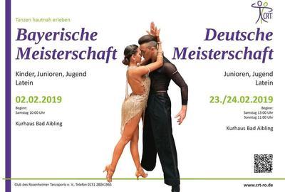 Bayerische Meisterschaften der Lateintnze