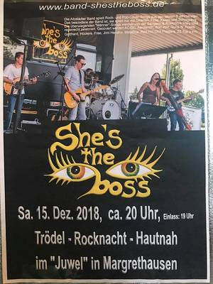 Rock meets Trödel mit Shes the Boss