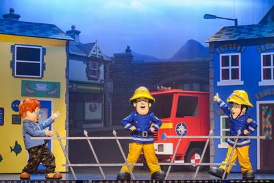 Feuerwehrmann Sam. (© CopyrightTheateraufTour)