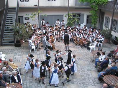 Standkonzert der Musikkapelle Flintsbach