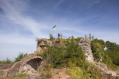 Winterzauber auf dem Homburger Schlossberg - unterwegs zwischen Saar & Blies