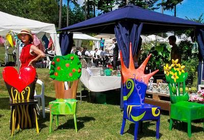 Kunsthandwerk Garten und Genuss