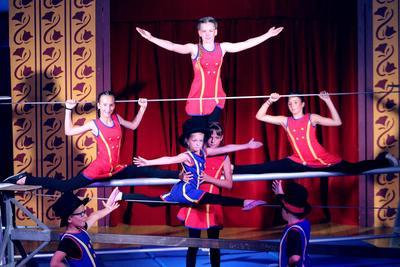Schlussvorstellung des Zirkuslagers