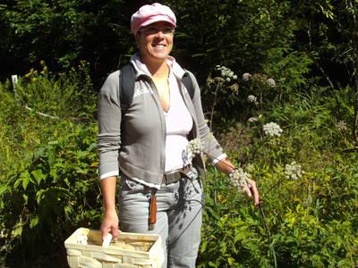 Wanderung mit Madelaine bei Vollmond