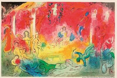 Ausstellung Marc Chagall - Poesie & Farbe