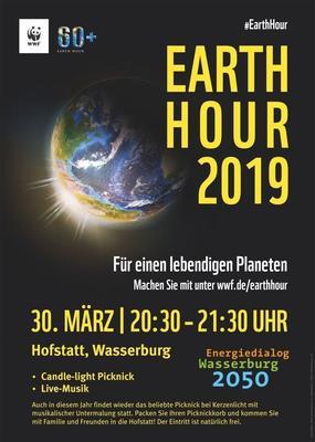 Earth Hour 2019 – Wasserburg macht mit